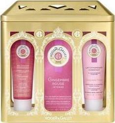 Roger & Gallet Gingembre Rouge Frangrant Wellbeing Water 100ml ,Body Lotion 50ml & Shower Gel 50ml