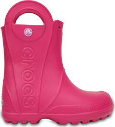 Crocs Handle It Rain Boots Candy Pink 12803-6x0
