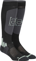 Burton AK Endurance Snowboard Sock - True Black