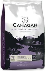 Canagan Light Senior Sterilised Cats 4kg