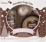 I Love Cosmetics Takeaway Trio Chocolate Fudge Cake Set