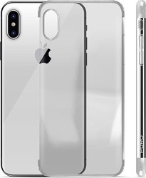 Puro Verge Crystal Silver (iPhone X)