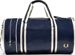 Fred Perry Classic Barrel Bag L4305-635 Navy / Ecru