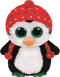 c2648ac953f Προσθήκη στα αγαπημένα menu Ty Beanie Boos - Penelope the Christmas Penguin  Plush Toy 23cm