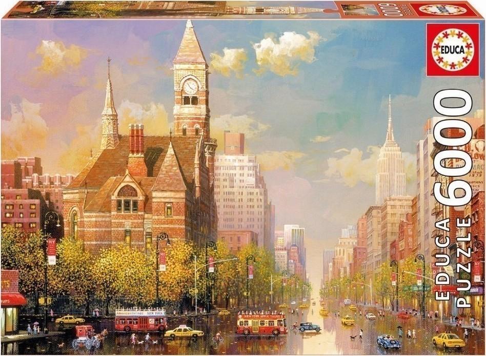 ... New York Afternoon Alexander Chen 6000pcs (16783) Educa
