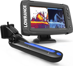 Lowrance Elite-7 Ti & TotalScan Transducer
