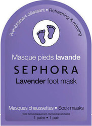Sephora Collection Lavender Foot Mask 1τμχ