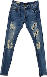 PROJECT X PARIS JEAN ΑΝΔΡΙΚΟ - SKINNY (88179973/BL)