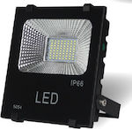 Lucas LED Προβολέας 30W SMD με Φωτοβολταϊκό IP6...