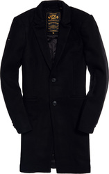 Superdry Camden Over Coat Super Dark Navy