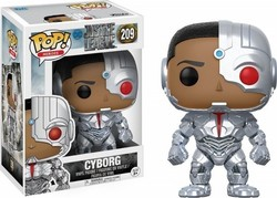 Pop! Heroes: Justice League - Cyborg 209