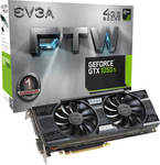 EVGA GeForce GTX 1050 Ti 4GB FTW Gaming (04G-P4-6258-KR)