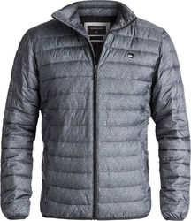 Quiksilver Scaly Full Water-Repellent Puffer Jacket Dark Grey