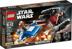 Lego Star Wars: A-Wing vs TIE Silencer Microfighters 75196