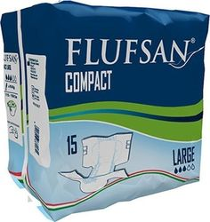 Flufsan Compact Large 15τμχ