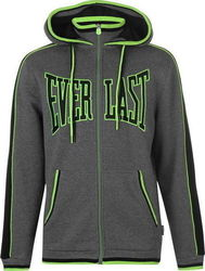 Everlast Large Logo Zip Hoody 536035 Charcoal Marl
