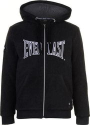 Everlast Polar Fleece Zip Hoody 696004 Black