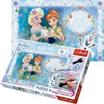 Magic Marker Frozen 70pcs (75111) Trefl