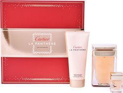 Cartier La Panthere Eau de Parfum 75ml & La Panthere Miniature 6ml & Body Cream 100ml