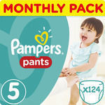 Pampers Pants No5 (12-18kg) 124τμχ