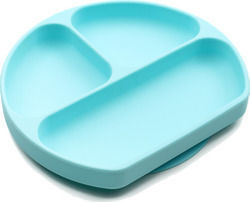 Bumkins Silicone Plate Blue