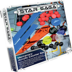 Mantic Star Saga Player Acrylic Counter Set