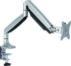 Roline VALUE LCD Monitor Stand Pneumatic Desk Clamp 5 Joints Pivot