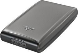 Tru Virtu Credit Card Case Fan Taupe Rock