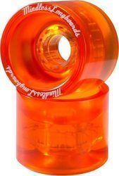 MINDLESS OUTLAW LONGBOARD WHEELS ORANGE 68mm