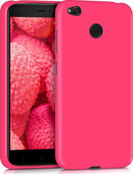 KW Back Cover Σιλικόνης Neon Pink (Xiaomi Redmi 4x)