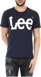 LEE LOGO TEE NAVY DROP (L62AAIEE)