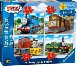 My First Puzzles Thomas & Friends 2pcs, 3pcs, 4pcs & 5pcs (06940) Ravensburger