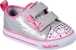 Skechers Twinkle Toes Shuffles Itsy Bitsy 10764N-SLHP