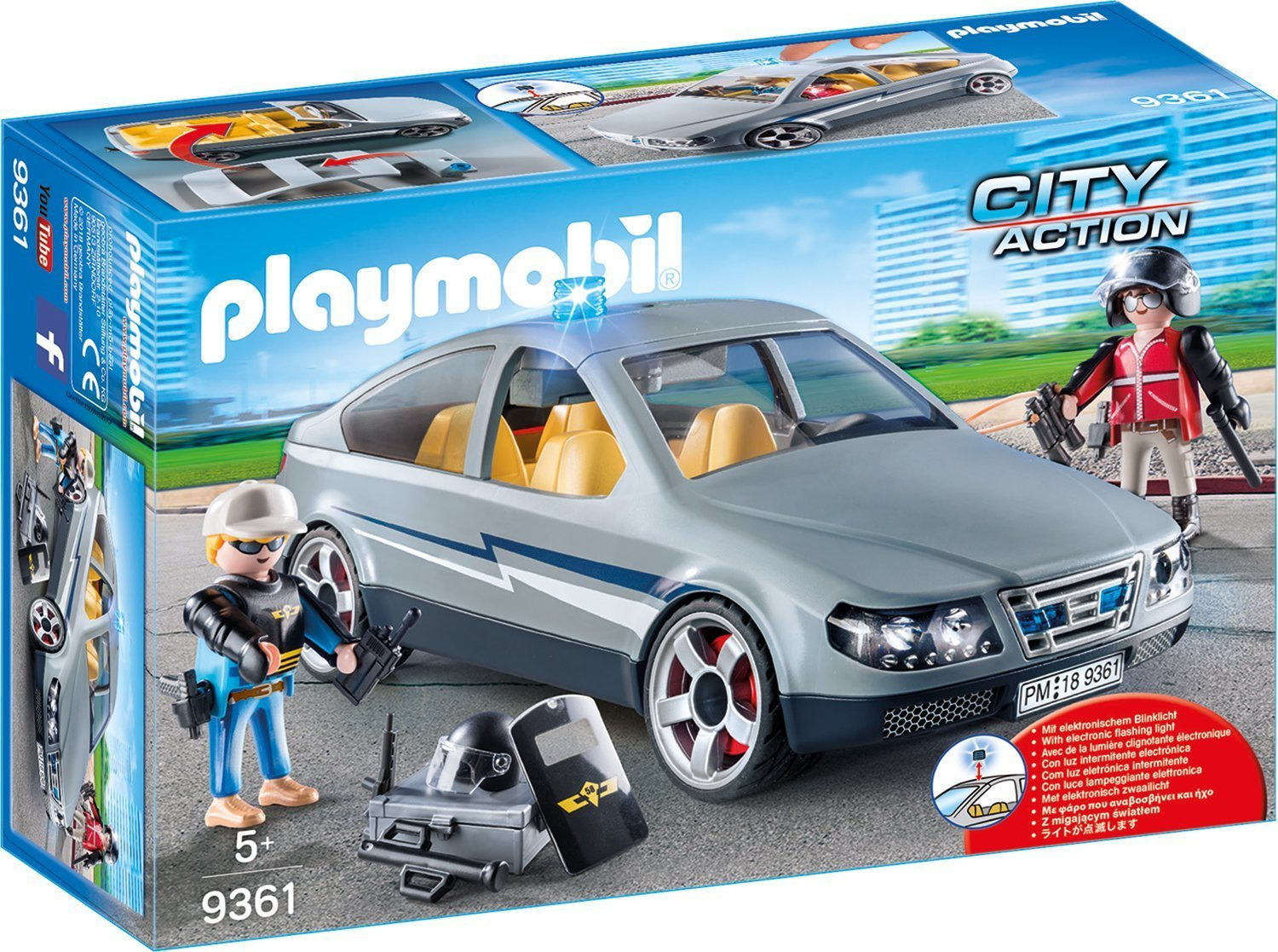 playmobil city action swat undercover car. Black Bedroom Furniture Sets. Home Design Ideas