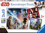 Star Wars The Last Jedi 3x49pcs (08039) Ravensburger
