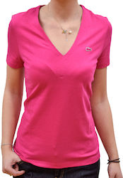 LACOSTE V-NECK T-SHIRT IN SOFT JERSEY STACY CHINE