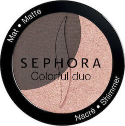 Sephora Collection Colorful Duo Fards A Paupieres 06 Double Down