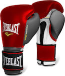 Everlast Powerlock Velcro 2272 Red/Grey