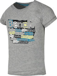 BENCH GIRLS T-SHIRT - 111BE-00558-GREY