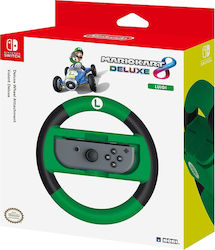 Hori Mario Kart 8 Deluxe Wheel Luigi Version Switch