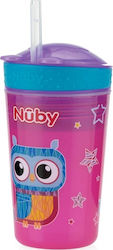 Nuby Drink & Snack Cup Pink 270ml