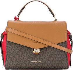 Michael Kors 30H7GZKS8V Brown / Red