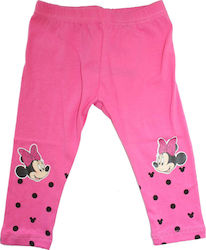 Disney Baby Minnie Mouse Βρεφικό κολάν (CTL81025A) ροζ