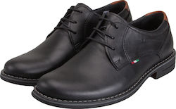 VERRAROS UOMO 32 BLACK LEATHER