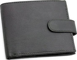RAS Men's High Quality Soft Leather Wallet RFID Blocking (Black)