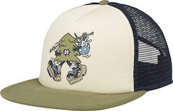 BURTON I-80 SNAPBACK TRUCKER HAT CANVAS