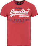 Superdry Shop Tri T-Shirt Red