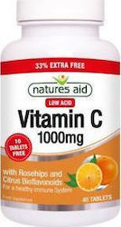 Natures Aid Vitamin C 1000mg 40 ταμπλέτες