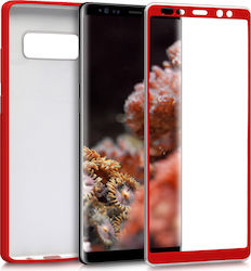KW 360 Full Cover Metallic Red (Galaxy Note 8)