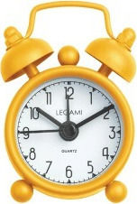 Legami Milano Mini Tick Tock Yellow SVE0018